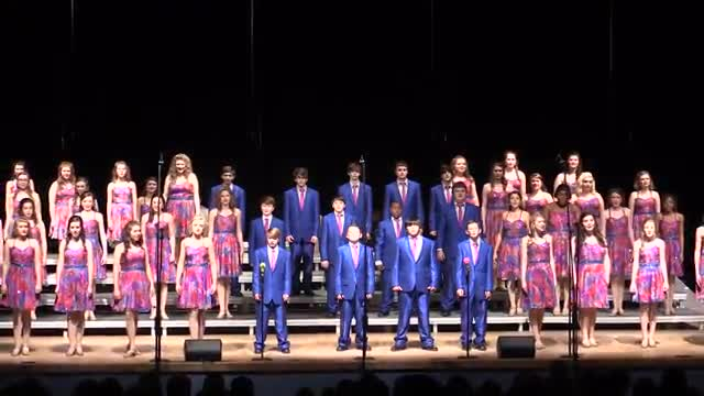 South Jones Middle Choir - Infusion Performance at 2014 South Jones Show Choir in Ellisville, MS