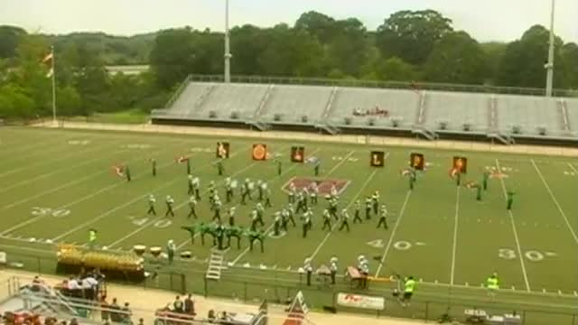 Leeds High Band at 2012 Mid South MBF in Gadsden, Alabama