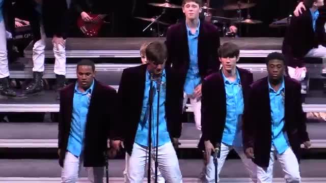 Auburn High Choir Varsity Singers Finals Performance at 2014 Southern Showcase in Opelika, AL