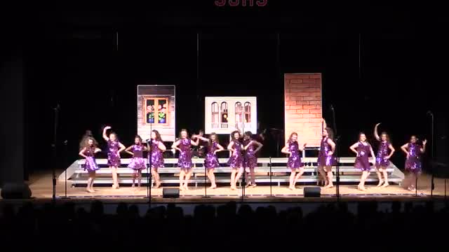 Purvis Middle Choir - Velocity Performance at 2014 South Jones Show Choir in Ellisville, MS
