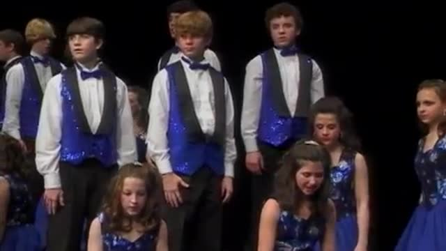 Simmons Middle Choir Performance at 2010 Diamond Classic in Albertville, AL
