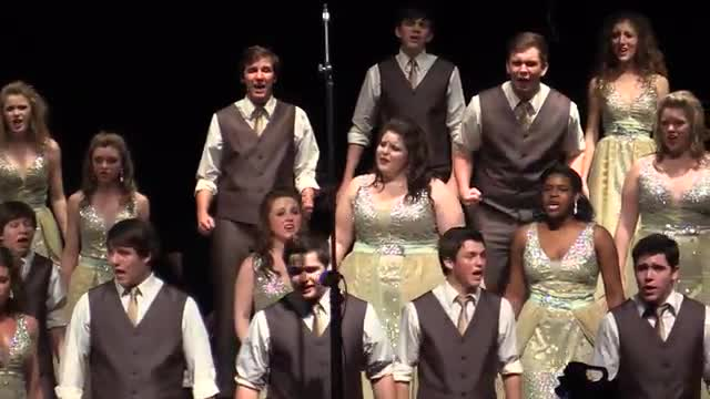 South Jones High Choir - Company Finals Performance at 2014 West Jones Show Choir in Laurel, MS
