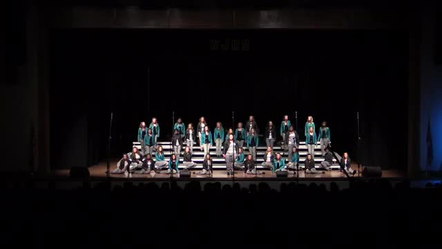 South Jones High Choir - New Edition Finals Performance at 2014 West Jones Show Choir in Laurel, MS