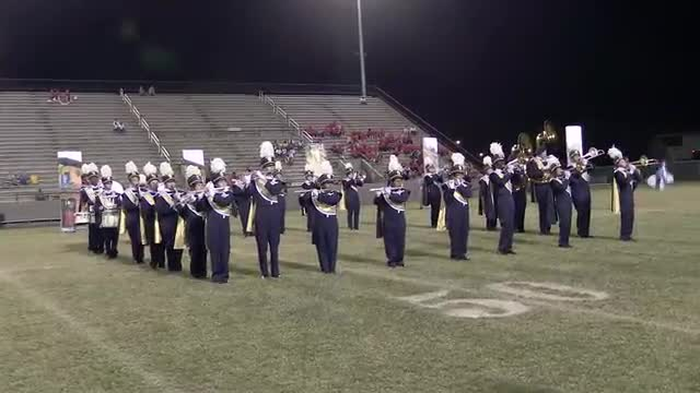 Headland High Band at 2013 Southern Showcase in Dothan