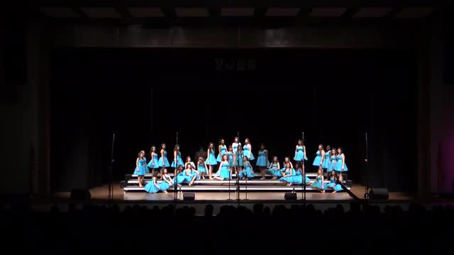 Oak Grove Middle Choir - Focus Performance at 2014 West Jones Show Choir in Laurel, MS