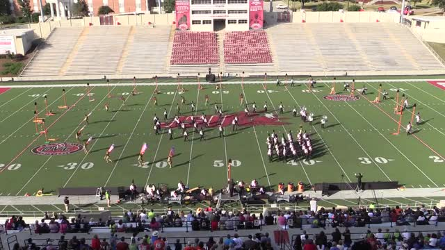 Woodland High Band at 2013 JSU Contest of Champions MBF in Jacksonville, Alabama WIDE ANGLE ONLY