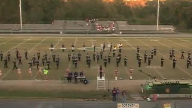 Bibb County High Band at 2012 West Alabama MBF in Gordo, Alabama