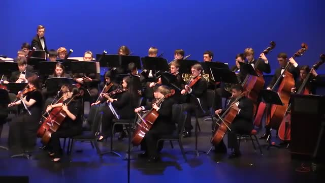 Mobile Symphony Youth Orchestra @ AMEA 2014 in Montgomery, Al