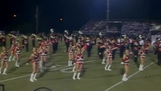 Albertville High Band at 2012 Mid South MBF in Gadsden, Alabama