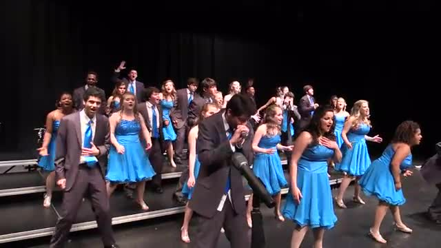 Spain Park High Choir - Rhapsody in Blue Performance at 2014 South Central Classic in Homewood, AL