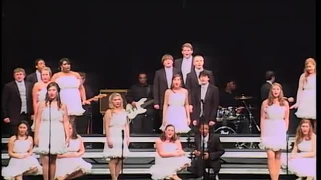 Eufaula High Choir -Vibe-Finals Performance at 2012 Enterprise Show Choir in Enterprise, AL