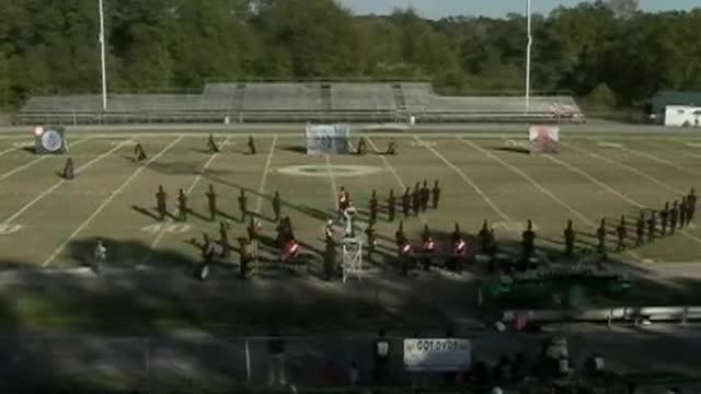 Winona High Band at 2012 West Alabama MBF in Gordo, Alabama
