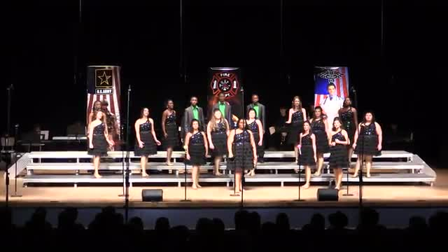 Wayne County High Choir - Orange Sensations Performance at 2014 South Jones Show Choir in Ellisville, MS
