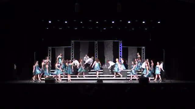 Bradley Central High Choir Vocal Motion Finals Performance at 2014 Diamond Classic in Albertville, AL