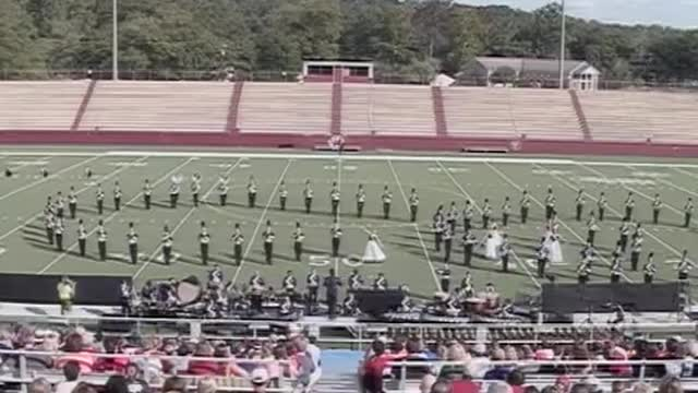 Daphne High Band at 2012 Heart of Dixie MBF in Prattville, Alabama
