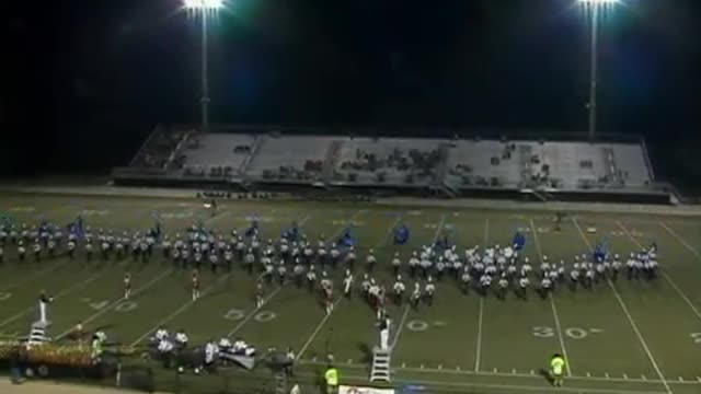 Benjamin Russell High Band at 2012 Mid South MBF in Gadsden, Alabama
