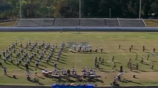 Rockdale County High Band at 2012 Old South MBF in Newnan, Georgia