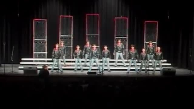 Louisville Middle Choir-Showstoppers-Performance at 2010 Diamond Classic in Albertville, AL