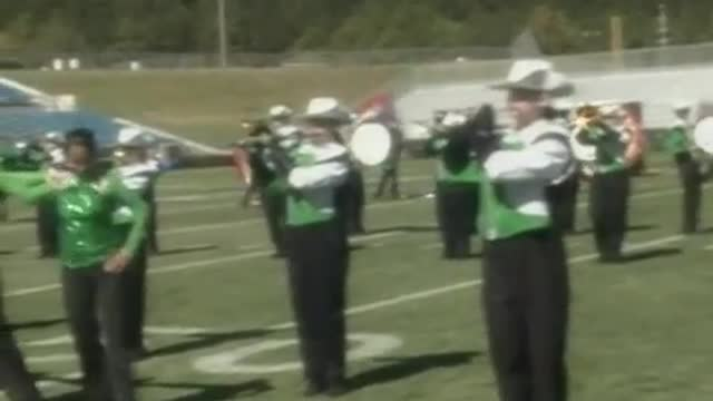 Leeds High Band at 2012 Hoover Invitational MBF in Hoover, Alabama