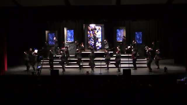 Clinton High Choir Attache Performance at 2014 South Central Classic in Homewood, AL