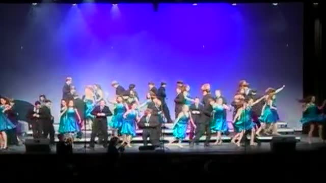 Albertville Middle Choir -VocalPoint-Exhibition Performance at 2010 Diamond Classic in Albertville, AL