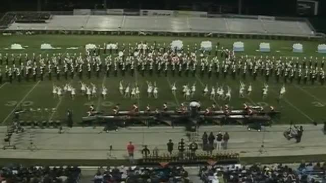 JSU Band  at 2012 Hoover Invitational MBF in Hoover, Alabama