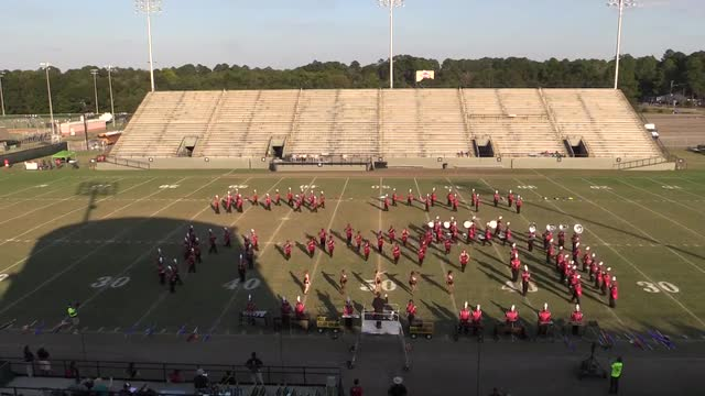 Central High Band - Wide Angle ONLY - at 2013 Southern Showcase in Dothan
