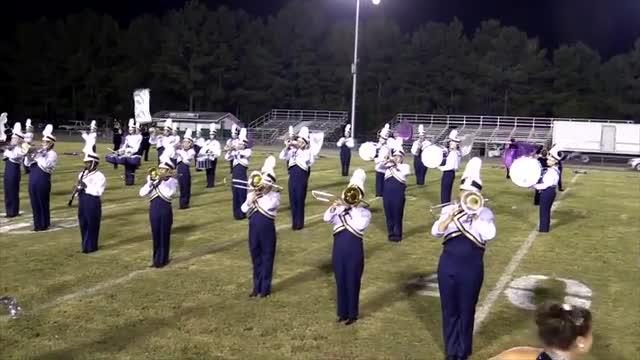 Moody High Band at 2013 St. Clair Expo MBF in Moody, Alabama