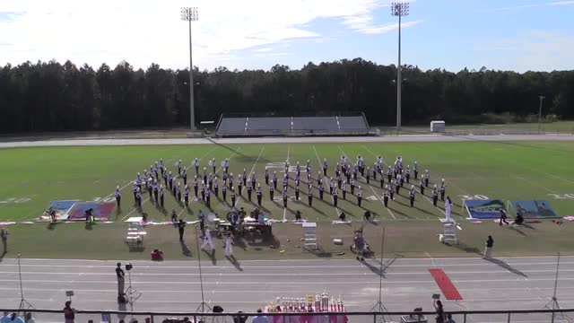 Grovetown High Band at 2013 Georgia Marching Band Series Championship in South Effingham, GA