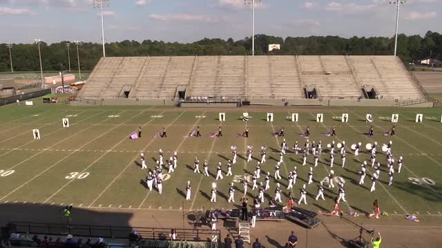 Charles Henderson High Band  - Wide Angle ONLY - at 2013 Southern Showcase in Dothan