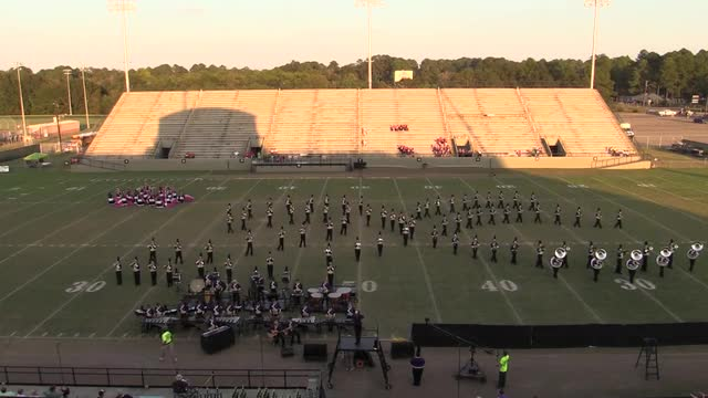 Daphne High Band - Wide Angle ONLY - at 2013 Southern Showcase in Dothan