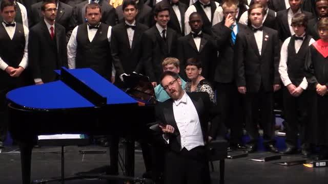 Alabama Honor Choir Performance at 2014 AMEA in Montgomery, Al