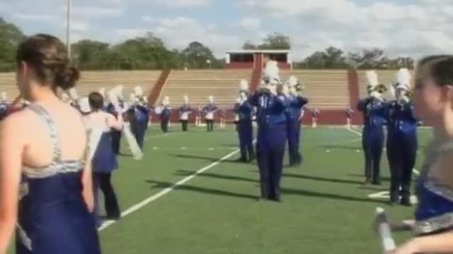 Mortimer Jordan High Band at 2012 Heart of Dixie MBF in Prattville, Alabama