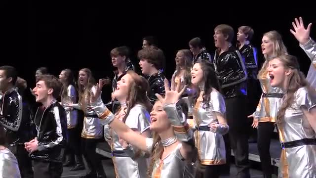 Donelson Christian Academy Choir Legacy Performance at 2014 Diamond Classic in Albertville, AL