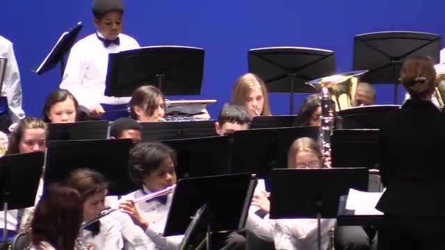 Phillips Preparatory School Symphonic Band @ AMEA 2014 in Montgomery, Al