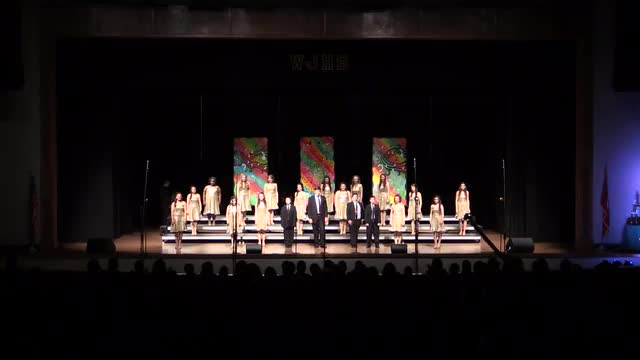 South Forest Middle Choir - Variations Performance at 2014 West Jones Show Choir in Laurel, MS