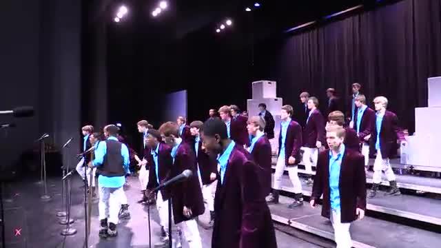 Auburn High Choir Varsity Singers Performance at 2014 Southern Showcase in Opelika, AL