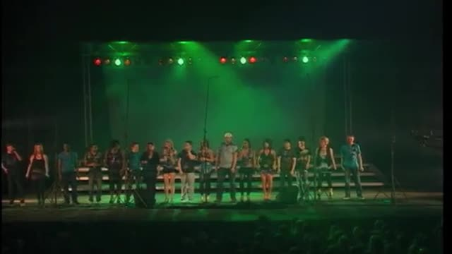 Jones Onstage Choir Exhibition Performance at 2012 South Jones Show Choir in Ellisville, MS