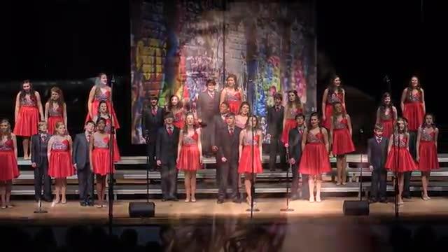 Petal Middle Choir - Spark Performance at 2014 South Jones Show Choir in Ellisville, MS