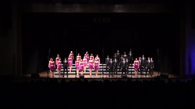 West Jones High Choir - Imaginations Exhibition Performance at 2014 West Jones Show Choir in Laurel, MS