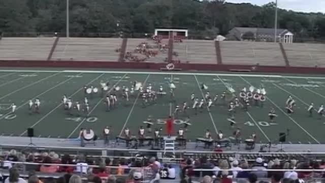Saraland High Band at 2012 Heart of Dixie MBF in Prattville, Alabama
