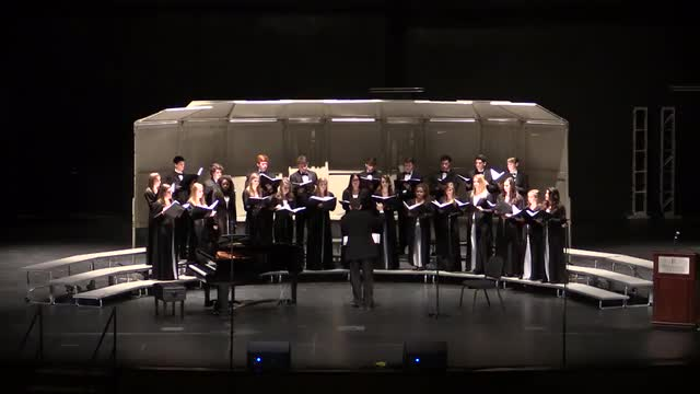 Spain Park High Chamber Choir Performance at 2014 AMEA in Montgomery, Al