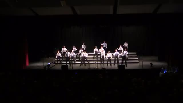 Homewood Middle Choir-Patriot Singers Performance at 2014 South Central Classic in Homewood, AL