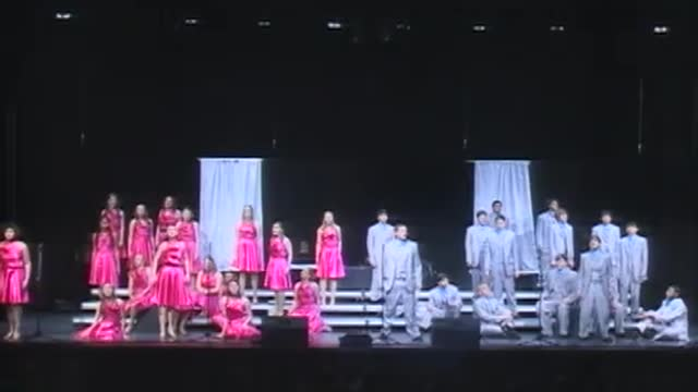Lakeside High Choir -Soundsations-Performance at 2013 Diamond Classic in Albertville, AL