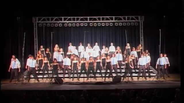 Homewood High Choir -Network- Finals Performance at 2012 South Jones Show Choir in Ellisville, MS