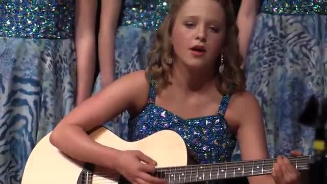 Oak Grove Middle Choir - Spotlight Performance at 2014 South Jones Show Choir in Ellisville, MS