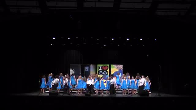 Helena Middle Choir The Music Machine Performance at 2014 Diamond Classic in Albertville, AL