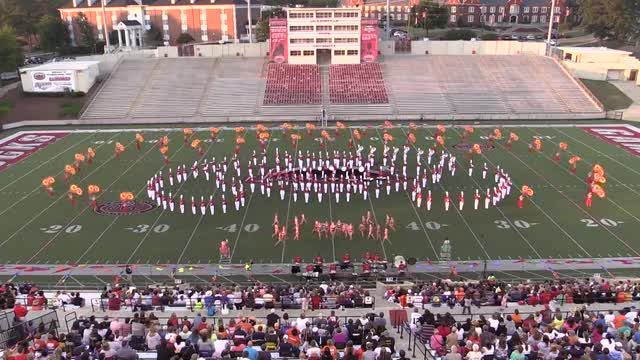 Hewitt Trussville High Band at 2013 JSU Contest of Champions MBF in Jacksonville, Alabama WIDE ANGLE ONLY