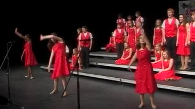 Rome Middle Choir Performance at 2010 Diamond Classic in Albertville, AL