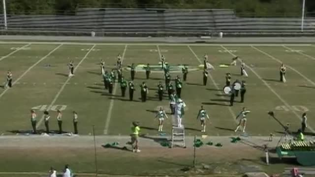 Millry High Band at 2012 West Alabama MBF in Gordo, Alabama
